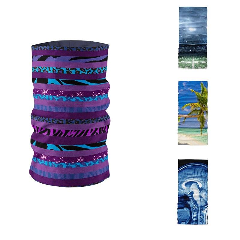 Fashion DIY Unisex Dustproof Scarf Magic Sports Mask Headdress Microfiber Seamless Tubular Square Headscarf Neck Gaiter Bandanas