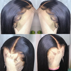 Image 2 - Sapphire Straight Hair Frontal With Bundles Human Hair Bundles With Frontal Brazilian Hair Weave Bundles With Closure Frontal
