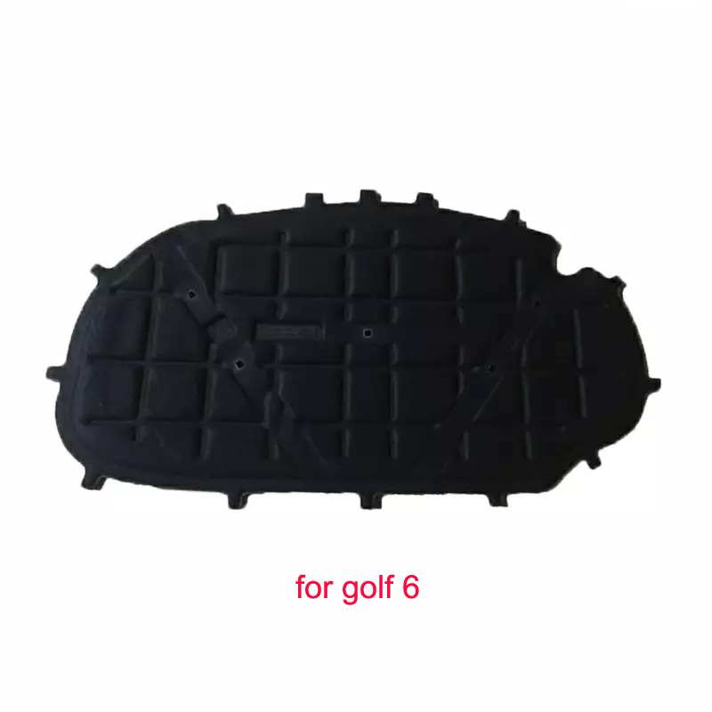 1PC Car Hood Engine Thermal Insulation Sound Insulation Cotton Heat Insulation Pad Mat For Volkswagen Golf 6 7