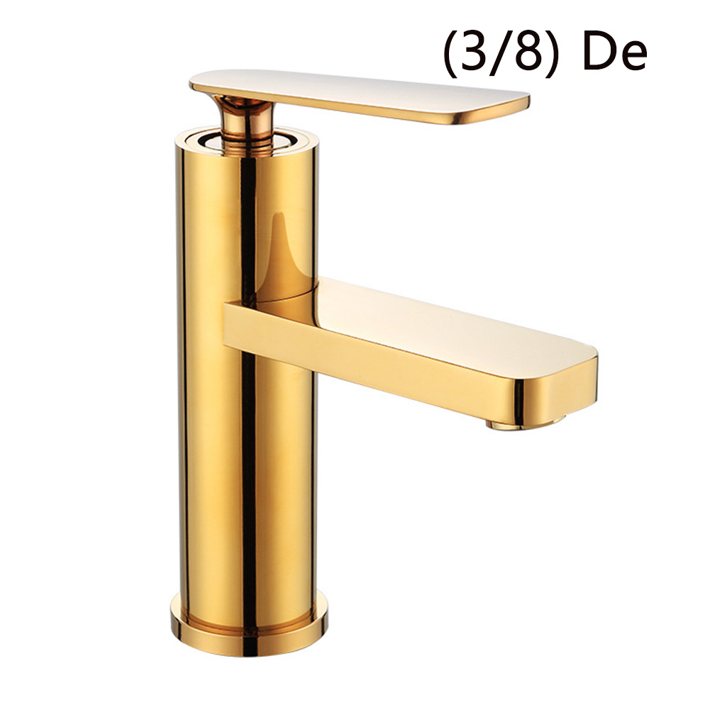 Bathroom Chrome Lavatory Single Handle Sink Drain Accessories Brass Tap Cold-Hot Water Kitchen Mixer Free Control Basin Faucet