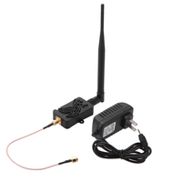 4W 4000mW 802.11b/g/n Wifi Wireless Amplifier Router 2.4Ghz WLAN ZigBee BT Signal Booster with Antenna TDD for computer