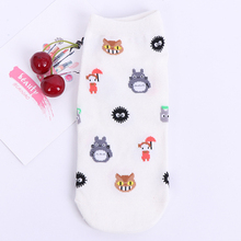 1Pairs New Arrivl Women Cotton Socks Pink Cute Cat Ankle Short Casual Animal Ear Red Heart Gril 35-40