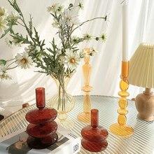 Flower Vase For Modern Home Decor Glass Vase Rustic Tabletop Terrarium Table Ornaments Dried Flower Vase Nordic