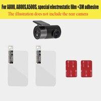 Für 70mai A500S A800 A800S 4K Dash Cam Hinten kamera spezielle elektro film + 3M klebstoff 2PCS + hilfs werkzeuge
