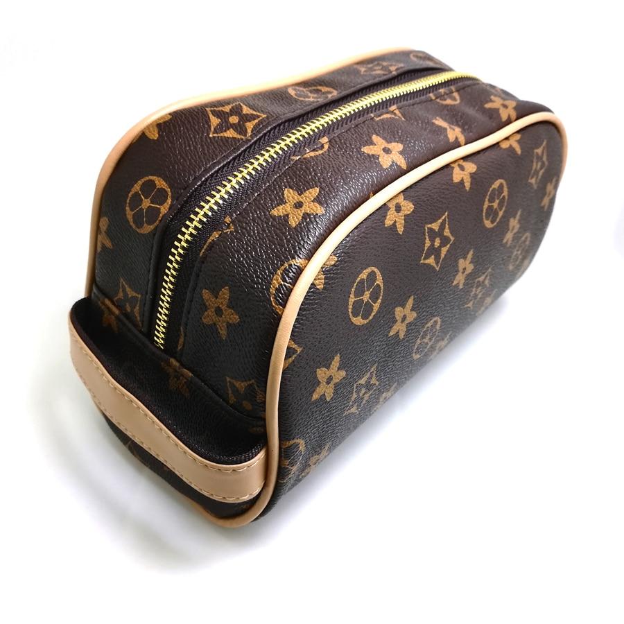 2019 Make Up Bags Cases Cosmetic Bag Travel Makeup Case Handbag PU Women Organizer Pouch Wash Kit Bear Design Coin Suitcase Tool
