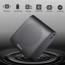 Rolton K10 Portable Voice Amplifier Megaphone Booster With Wired Microphone Loudspeaker FM Radio MP3 Teacher Training Speaker