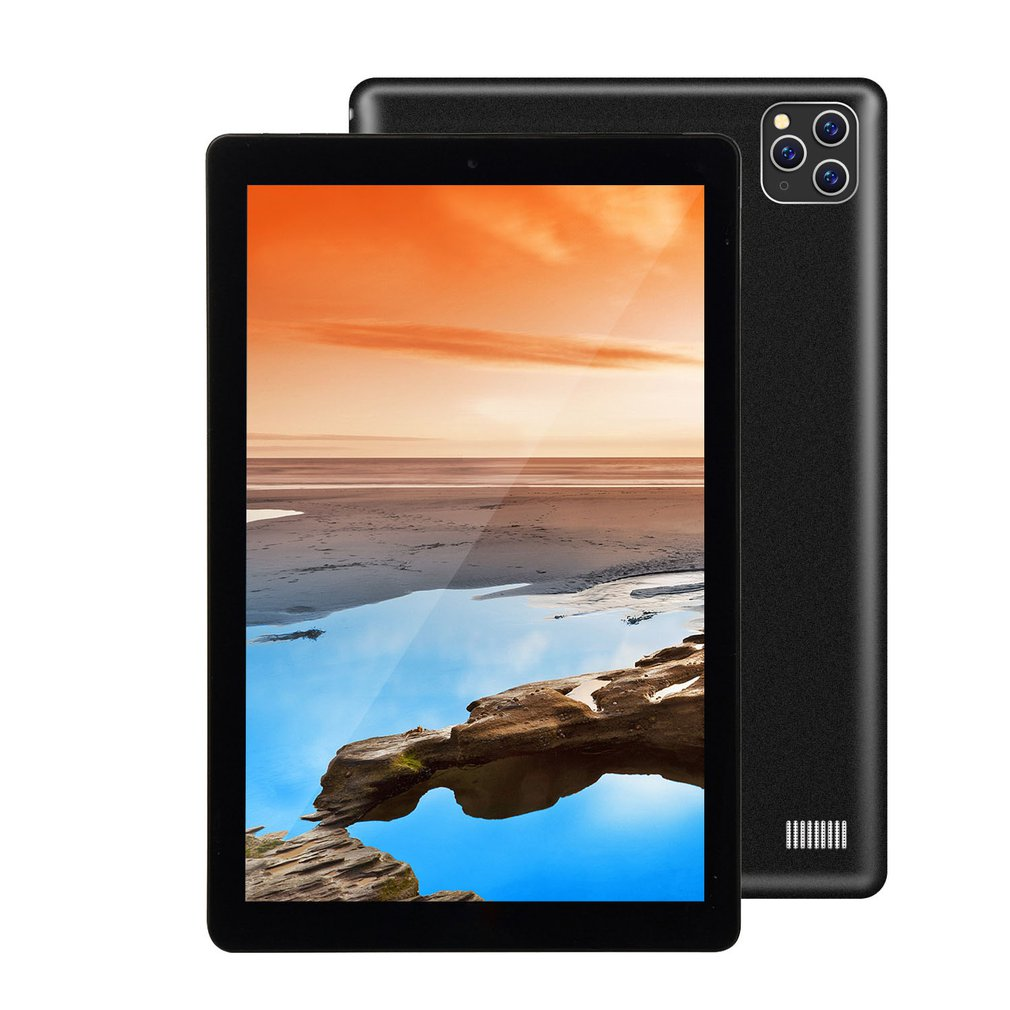 2020 New 10 Inch Three Cameras Tablet Dual-Card 3G Calling Tablet PC IPS Screen GPS Dual Card 3G Call Pencil And Smart Keyboard