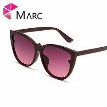 MARC Cat Eye Vintage Sunglasses Brand Women 2019 Fashion Leopard Sun Glasses Sexy Ladies Eyewears UV400 Goggles Oval