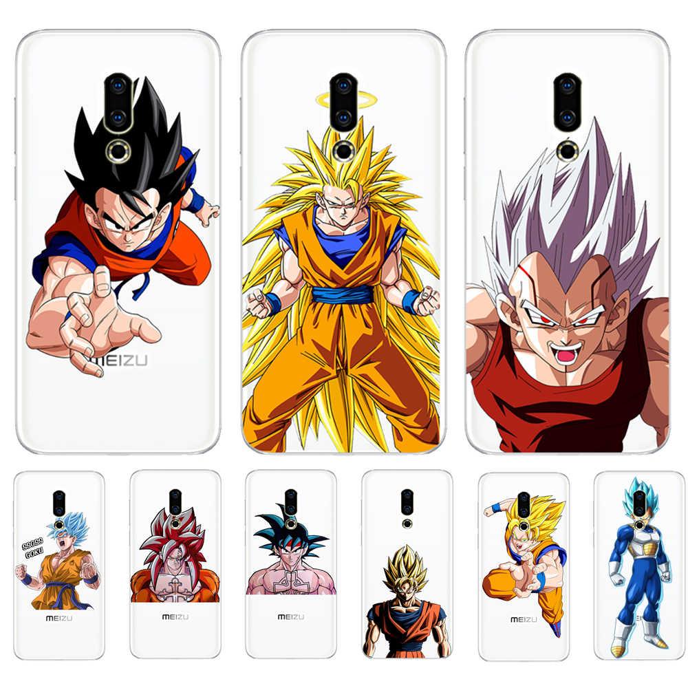 Dragon Ball Z Super Sohn Goku DBZ Für Meizu M3S M5 M5S M5C M6 M3 M5 M6 Hinweis U10 U20 telefon Fall Abdeckung Coque Etui capa Funda shell