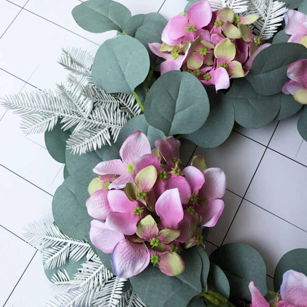 Hoa Giả Vòng Hoa Hoa Gắn Cửa Treo Tường Cửa Sổ Tiệc Cưới Giáng Sinh Trang Trí Bộ Bấc Vật Có Vòng Hoa Trang Trí Nhà Cửa