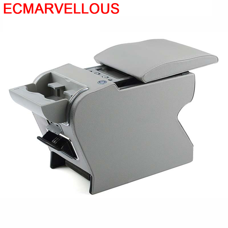 Upgraded Modified Car styling Car Arm Rest Accessory Accessories protector Decorative Parts Armrest Box 17 FOR Skoda Yeti in Armrests from Automobiles Motorcycles