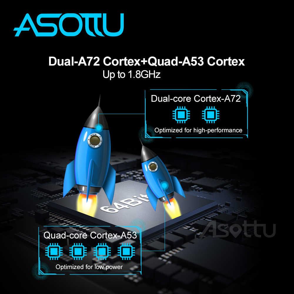 Asottu DA601 android 9.0 PX6 araç dvd oynatıcı Dacia/Sandero/silgi/Renault/Captur/Lada/Xray 2/ Logan navigasyon araba gps oynatıcı