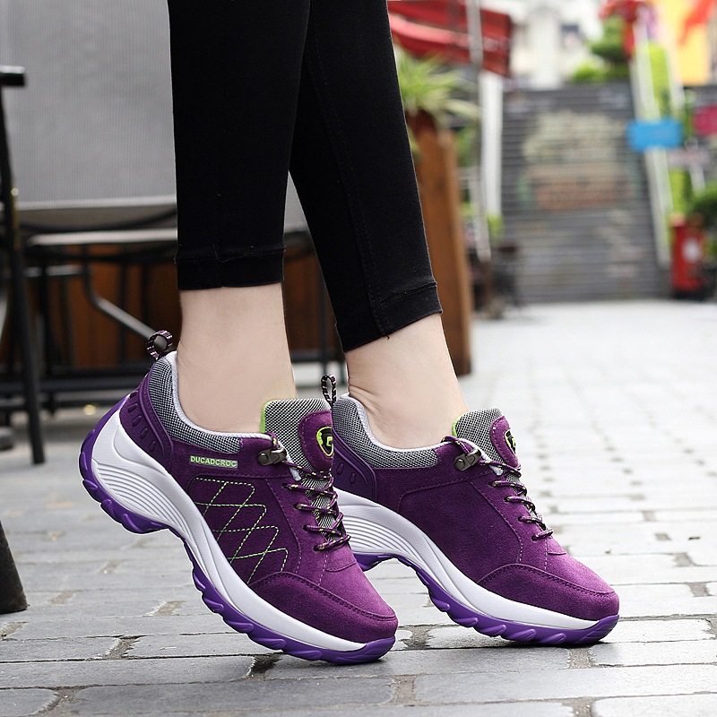 2019 New Brand Sneakers Women Running Shoes Comfortable Breathable Massage Platform Sneakers Women Sports Shoes Chaussures Femme