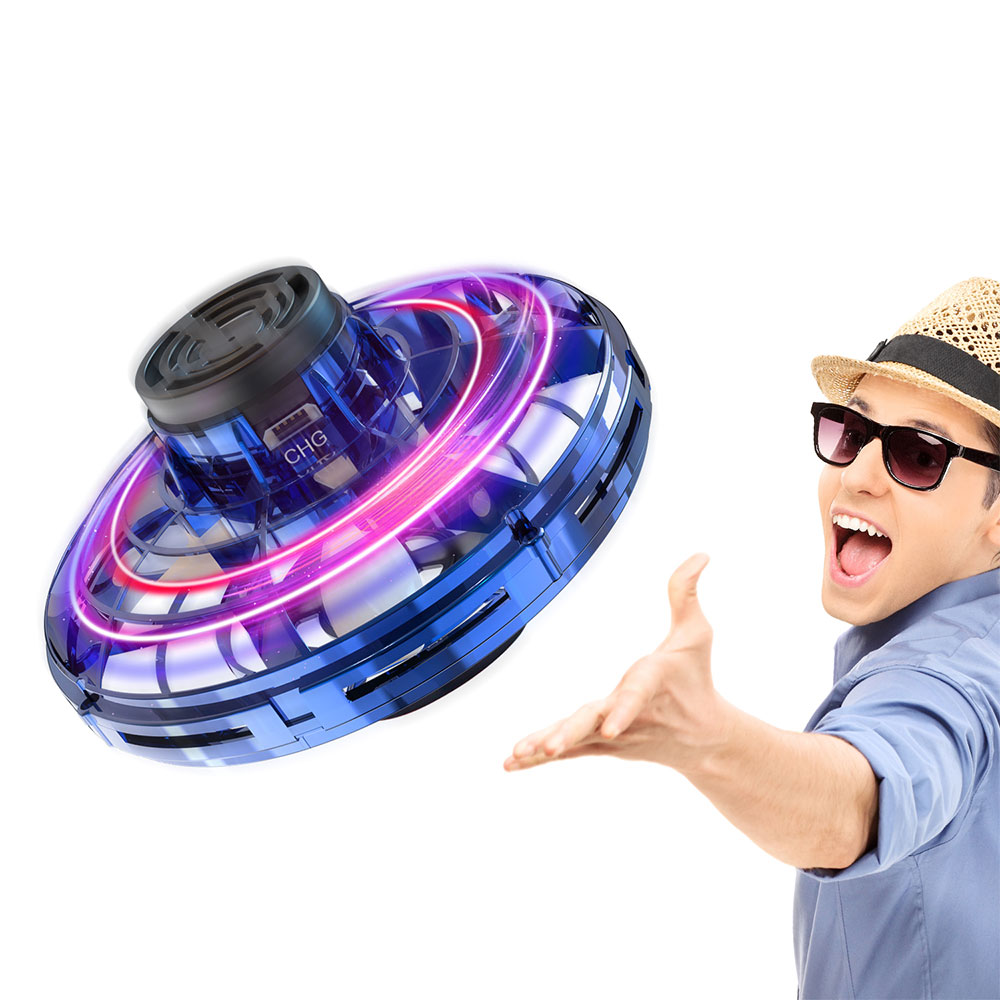 Mini Drone UFO Hand Operated Helicopter Sensing Induction Drone Infrared Induction Aircraft Flying Electronic Ball Toys For Kids