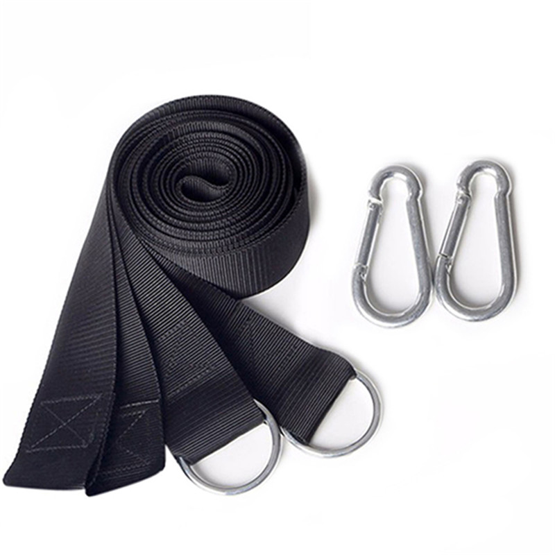 Nylon Hammock Hanging Belt Portable Tree Strap Nylon Rope Outdoor Camping Tool With Buckles Garden Rest Party Tools