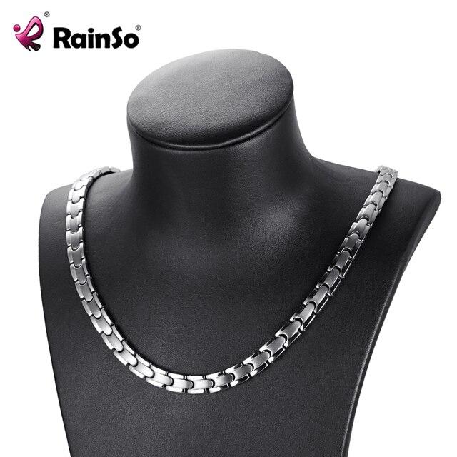 H73688fdb16a9418aae8e0f2062d965eb8 - Necklace Women Titanium Jewelry