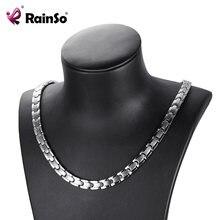 Женские ожерелья rainso модные магнитные цепочки и Ювелирные