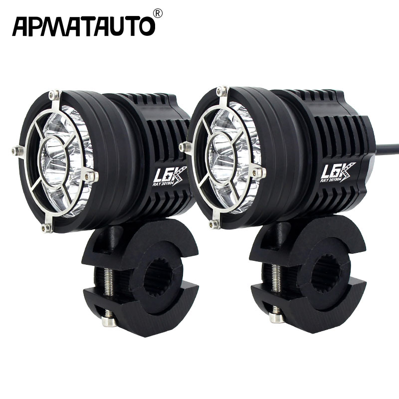Motocycle Fog Lights 12000lm For BMW Motorcycle LED Auxiliary Fog Light Driving Lamp For Harley Davidsion BMW R1200GS/ADV K1600
