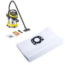 10pcs Vacuum Cleaner Dust Bags Disposable for Karcher MV4 MV5 MV6 WD4 WD5 WD6 Dropshipping