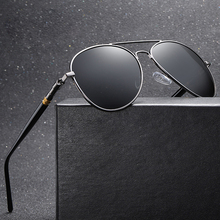 Classic Polarized Sunglasses Men Driving Pilot Sun Glasses Brand Designer Male Vintage Black Sunglasses For Man Women UV400