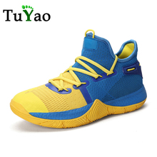 Men Basketball Shoes Breathable Mesh Cushion Sneakers for Male Non-slip Wearable Street Sports Shoes Gym Training  Shoes цена 2017