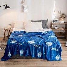Дешевое высококачественное одеяло из кораллового флиса на кровать