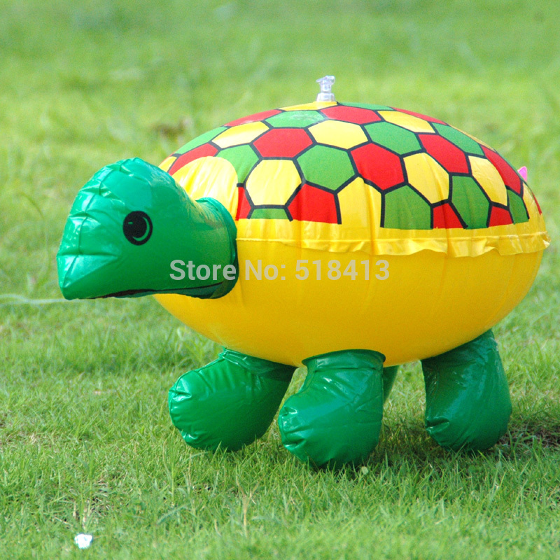 Inflatable Animal Inflatables Colorful Cute Lovely Children Toys Water Turtle Tortoises Inflatable Toy Animals Pvc Cartoon Funny