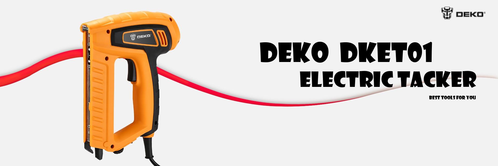 Pistola clavadora eléctrica DEKO nuevo DKET01 220V 20 pzas/min