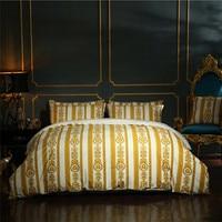 White Gold European Luxury Classic Bedding set Winter Thick Velvet Flannel Fleece Duvet cover Bed Linen Fitted Sheet Pillowcases