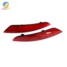 ELISHASTAR OEM одна пара темно-красный задний бампер отражатель лампы LH& RH подходит для VW Golf MK6 09-13 5KD945105A/5KD945106A