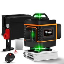 1Set 16 Lines 4D Infrared Ray Level Self-Leveling 360 Degree Green Light Level 2019 New aculine ak437g green 2 lines green laser level green ray level