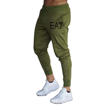 2020 New hot sale men's casual sports pants fashion foot casual pants men's jogging fitness pants gym sports - L, 7