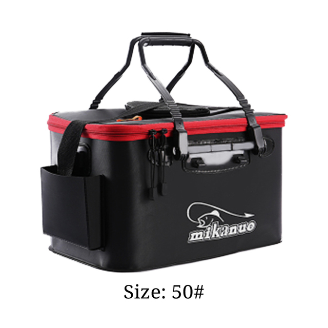 11/19/23/28/35L Collapsible Folding Thicken EVA Live Fish Box Tank Bucket Camping Outdoor Fishing Tackle Equipment with pump MJ