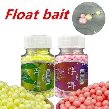 цена на 170/900pcs EPS Carp Foam Floats Ball Beads Beans Fishing Lure Boilies Sweet Smell Floating Bottom Hair Rig Popup Fishing Bait