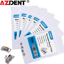 Azdent – Tube dentaire Non Convertible, 5 paquets = 20 pièces, orthodontie buccale, simple, Non Convertible, Roth/MBT/Non Convertible