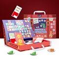 Магнитная математическая игрушка Монтессори, Арифметическое сложение, вычитание математики, игра-головоломка, развивающие игрушки, препод...