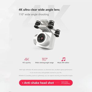 Image 3 - 2020 חדש Drone 4k מצלמה HD Wifi שידור Fpv מזלט אוויר לחץ קבוע גובה ארבעה ציר מטוסי Rc מסוק עם מצלמה