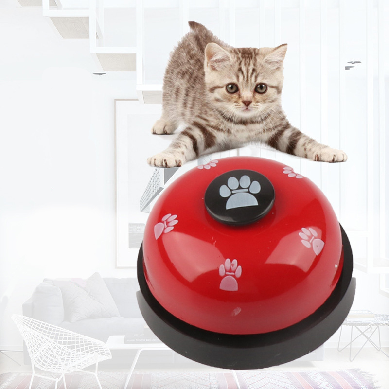 New Creative Pet Bell Supplies Trainer Bells Wholesale Training Cat Dog Toys Dogs Training High Quality Dog Training Equipment-0