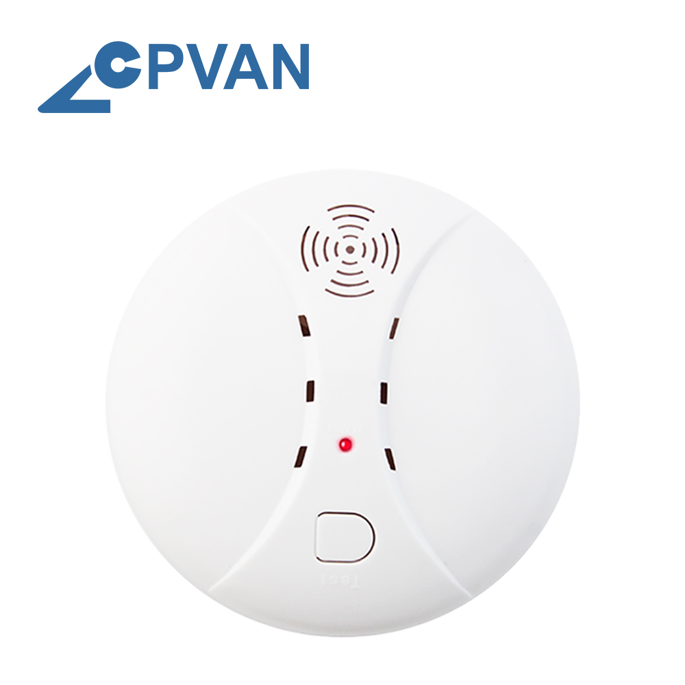 CPVAN Smoke Detector Alarm Sensor For GSM Home Security Alarm System 433Mhz Independent Fire Protection