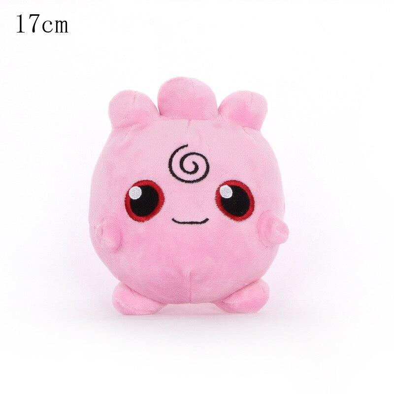 1pcs 17cm Igglybuff Plush Toys Doll Igglybuff Pendant Soft Stuffed Animal Plush Dolls Gifts For Children Kids