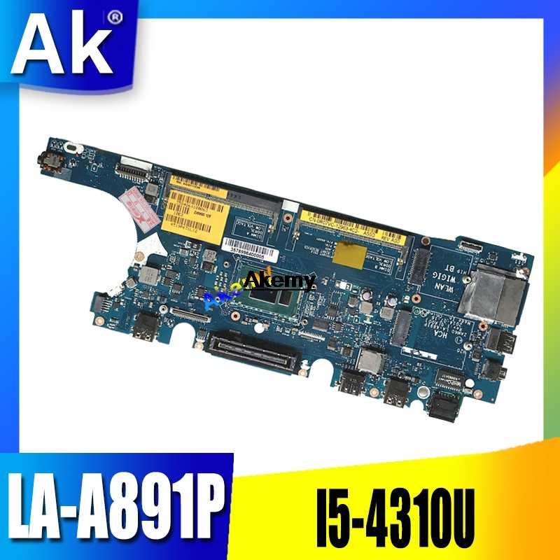 Для Dell Latitude E5250 материнская плата для ноутбука ZAM60 LA-A891P KTY9K 0KTY9K CN-0KTY9K w/i5-4310U