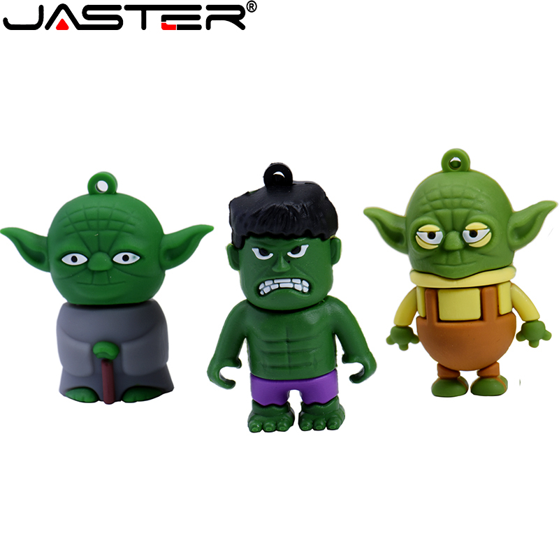 JASTER USB 2.0 Star Wars Usb Flash Drive Pen Drive 128GB 64GB 32GB 16GB 8GB 4GB Flash Stick Memory High Speed Cartoon Pendrive