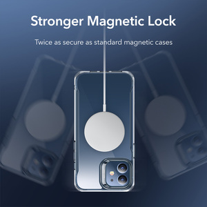 Image 4 - ESR Magnetic Case for iPhone 12/12 Pro Max Sidekick Hybrid Case with HaloLock Magnetic Wireless Charging Case for iPhone 12 Pro