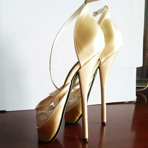"""Image 5 - Sexy Fetish 7"""" High Thin Heel Ballet pumps Masquerade party Sandals Unisex"""