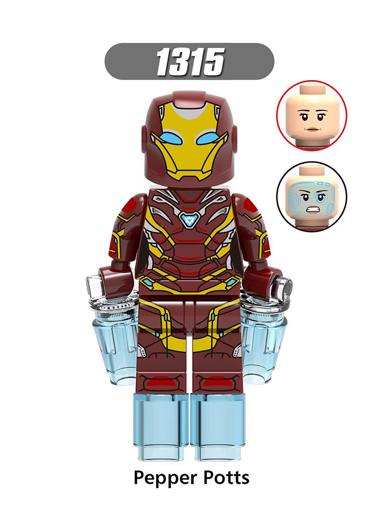 Single Sale Compatible Legoinglys Super Heroes Figures Hpward Iron Man Stark Steve Rogers Collection Toy For Baby Gifts X0264