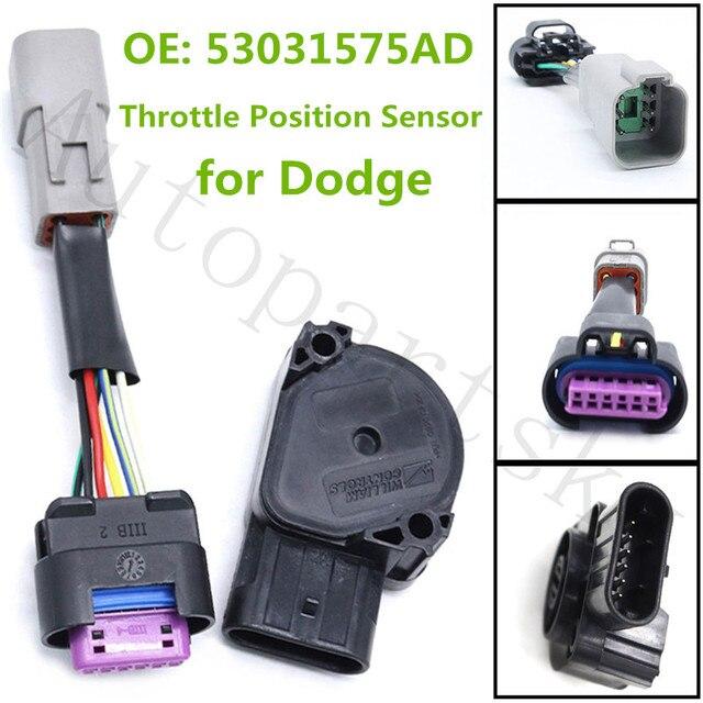 $ 18.99 TPS Throttle Position Sensor 53031575AD For Dodge Ram 2500 3500 5.9L for Cummins Part # 53031575 53031575AE GEGT7610 53031575AH