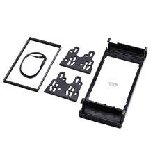Neue Dash Mount Kit Adapter Trim Lünette Doppel 2 DIN Radio Fascia, für BMW X5 (E53) 5 (E39) Stereo Fascia Rahmen Panel