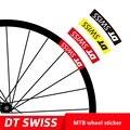 Два колеса наклейка набор для DT XC MTB велосипедный обод горный велосипед наклейка велосипедные наклейки
