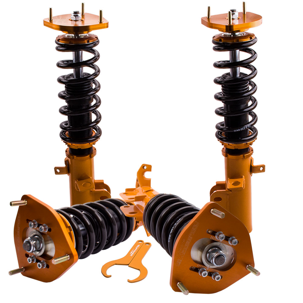 Coilover Coilovers Suspension For <font><b>Toyota</b></font> <font><b>Corolla</b></font> 88-99 AE90 AE92 AE100 <font><b>AE101</b></font> AE111 Coilovers Spring Struts image