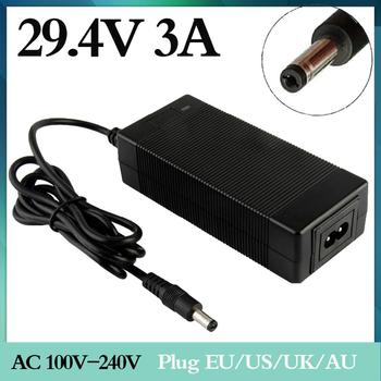 1 pc best price 29.4v3a lithium battery charger series 7 29.4V 3A charger 24V battery battery Electric lithium battery charger фото